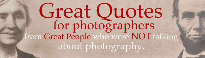 Photographing quote #2