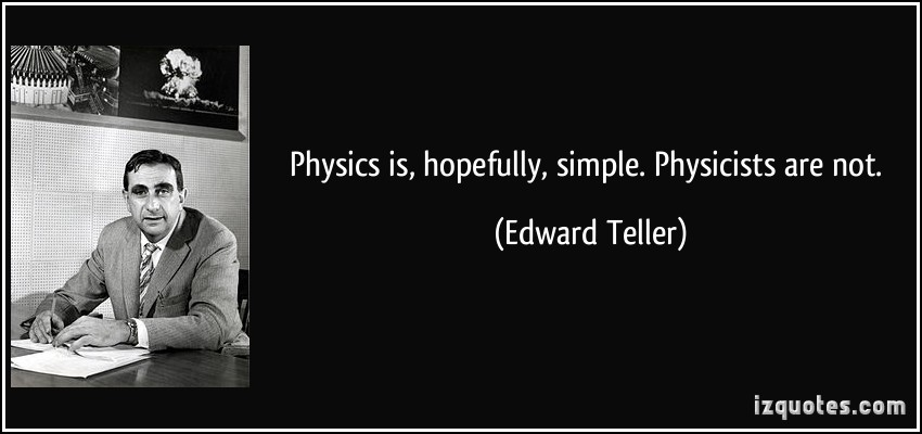 Physicists quote #1