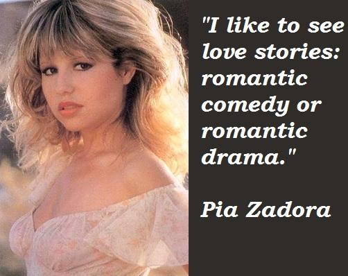 Pia Zadora's quote #1