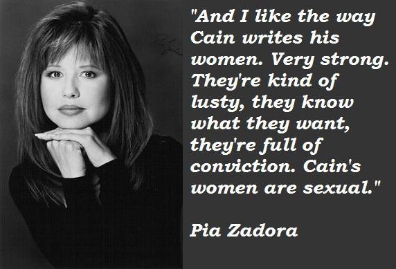 Pia Zadora's quote #3