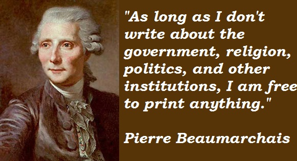 Pierre Beaumarchais's quote #7