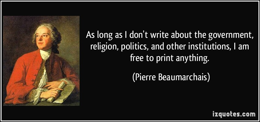 Pierre Beaumarchais's quote #2
