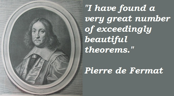 Pierre de Fermat's quote #2
