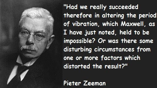 Pieter Zeeman's quote #1