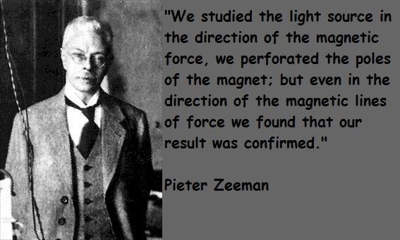 Pieter Zeeman's quote #5