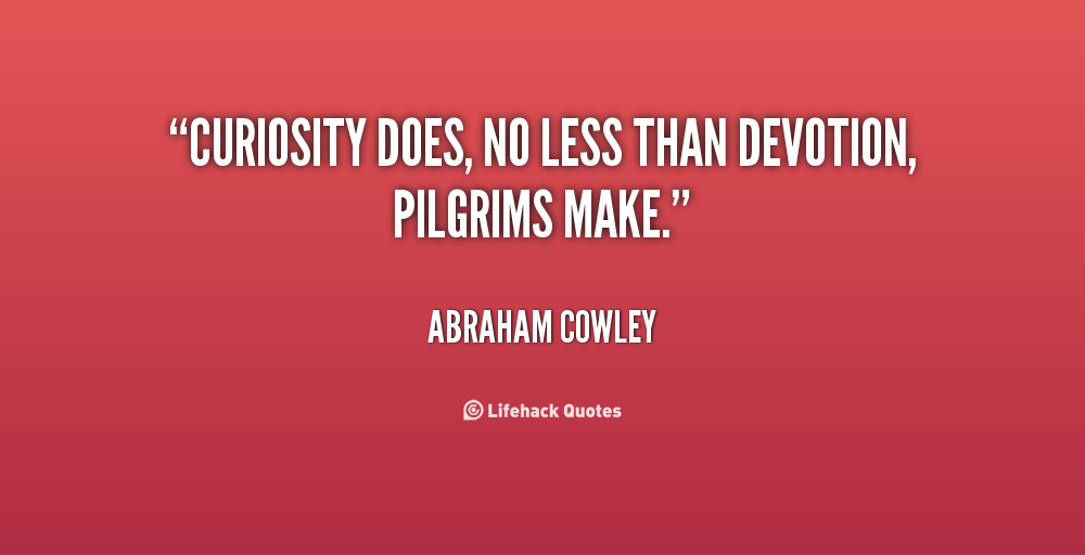 Devotion Quotes Alluring Famous Quotes About 'pilgrims'  Sualci Quotes