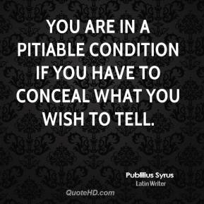 Pitiable quote #2