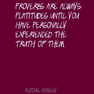 Platitudes quote #2