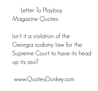 Playboy quote #5