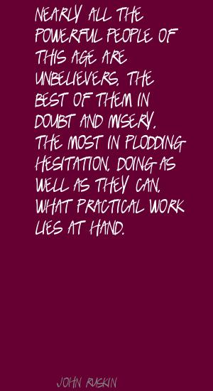 Plodding quote #1