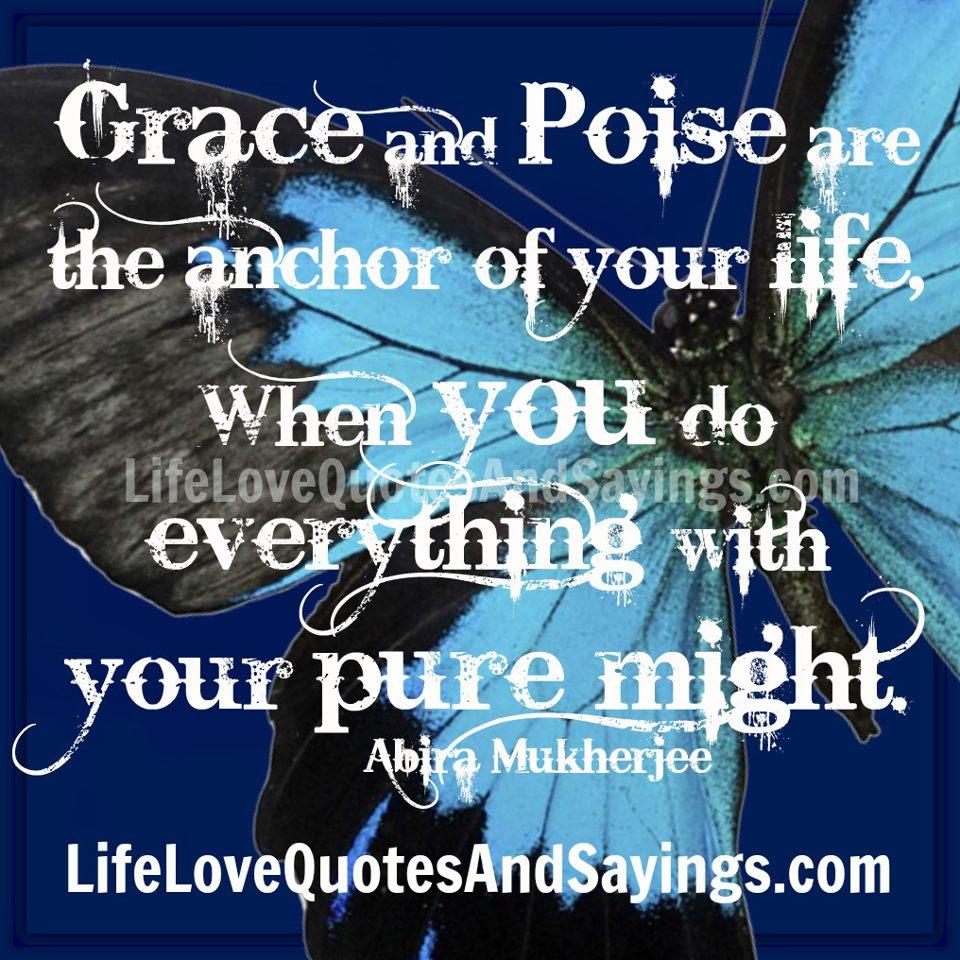 Poise quote #2
