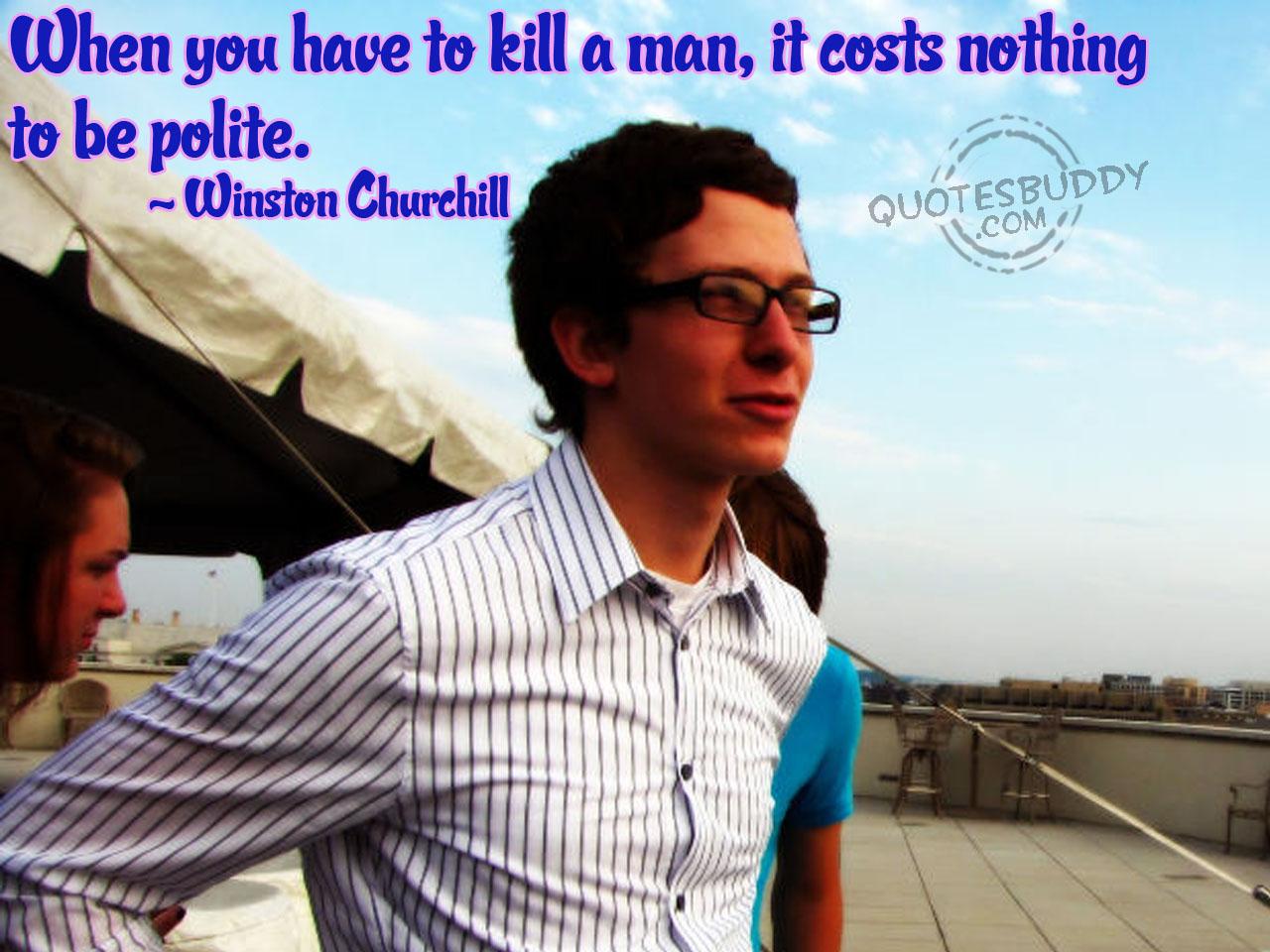 Polite quote #6