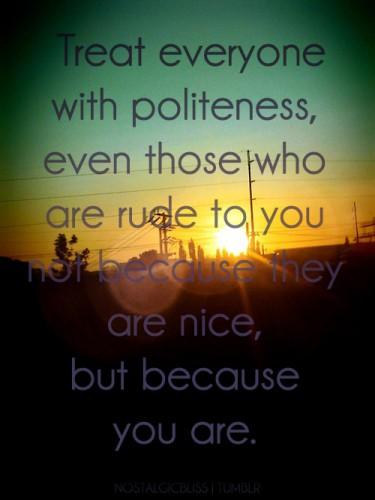 Polite quote #7