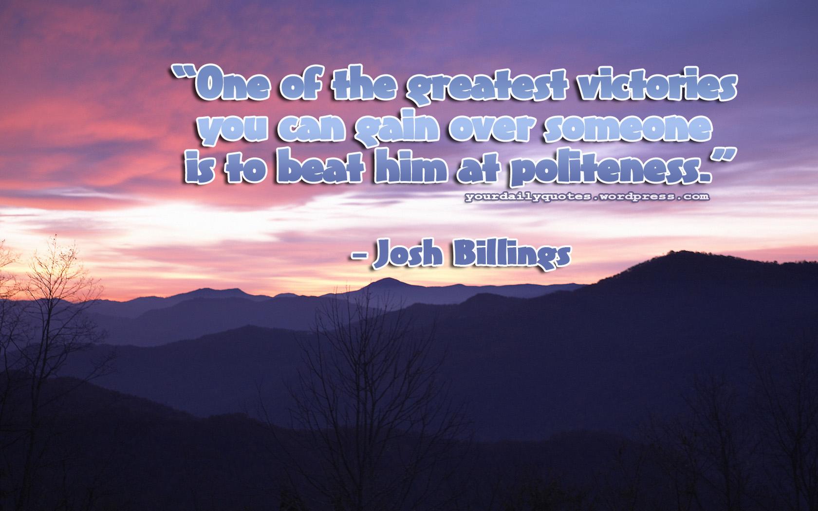 Politeness quote #3