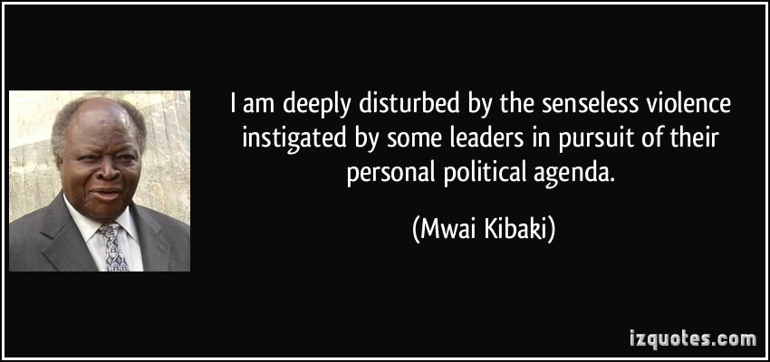 Political Agenda quote #2