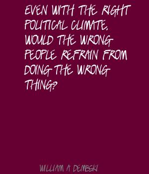 Political Climate quote #1