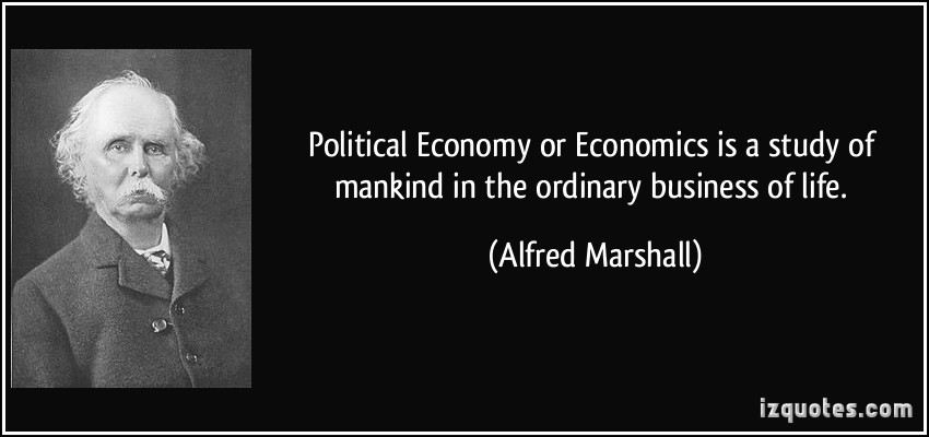 Political Economy quote #1