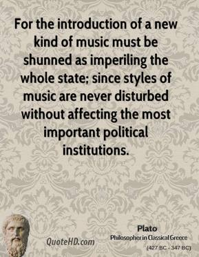 Political Institutions quote #1