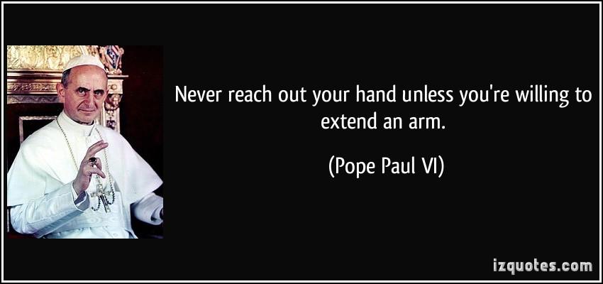 Pope Paul VI's quote #3