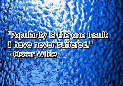 Popularity quote #5