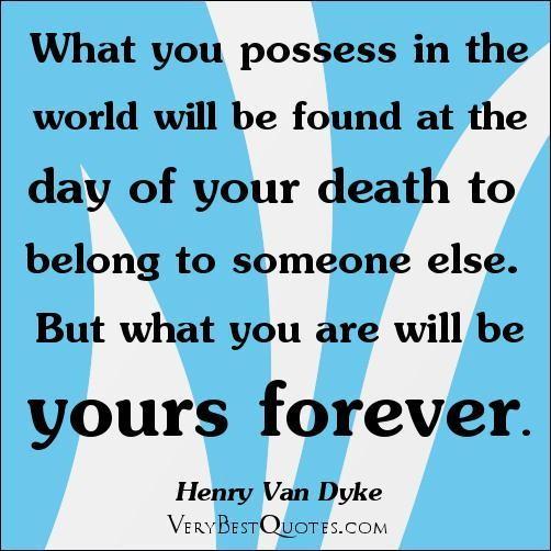 Possession quote #1