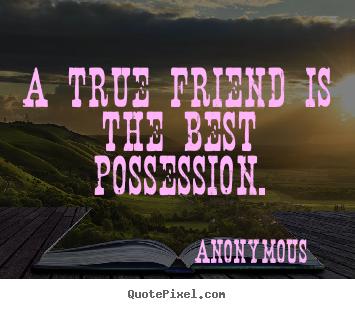 Possession quote #3