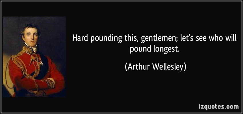 Pounding quote #1