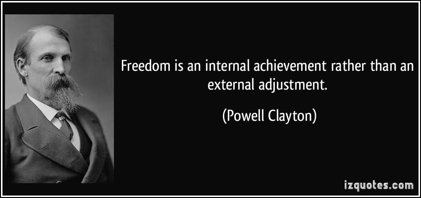 Powell Clayton's quote #1