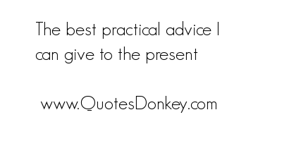 Practicality quote #1
