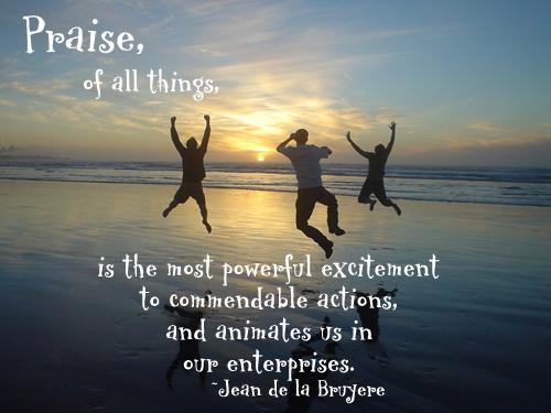 Praise quote #4