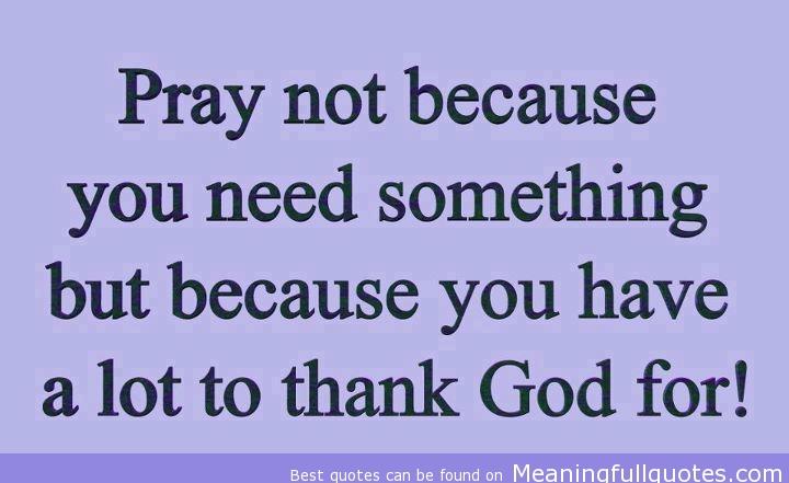 Pray quote #3