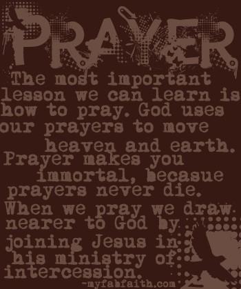 Pray quote #1
