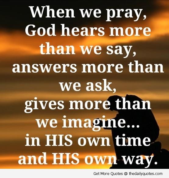 Pray quote #2