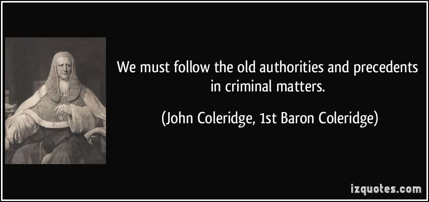 Precedents quote #1