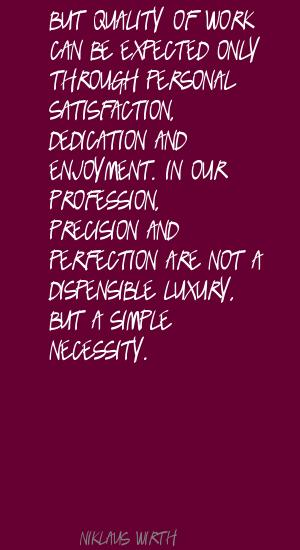 Precision quote #1