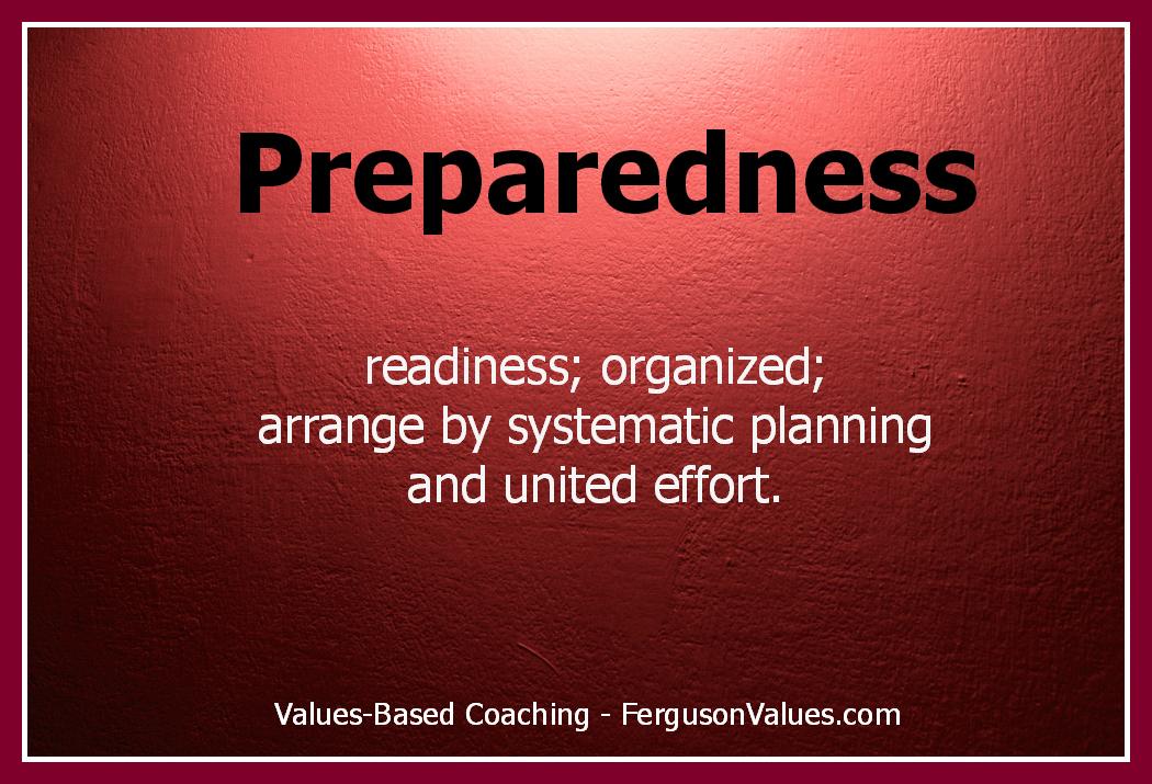 Preparedness quote #1