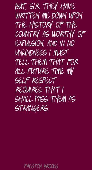 Preston Brooks's quote