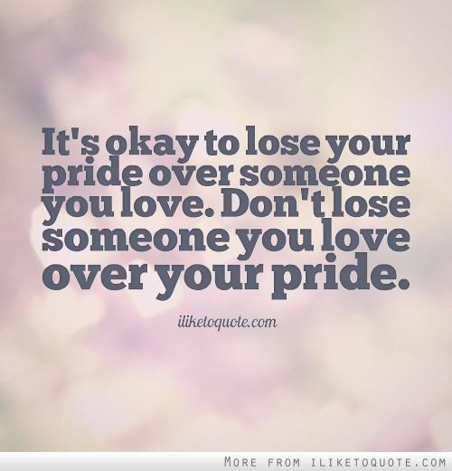 Pride quote #7