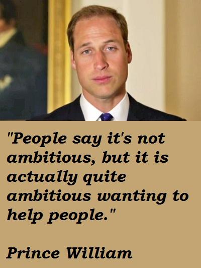 Prince William's quote #4