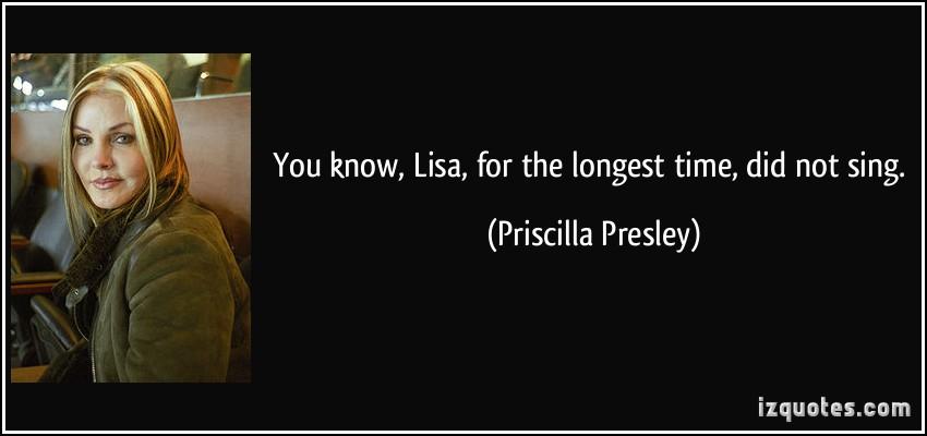 Priscilla Presley's quote #1