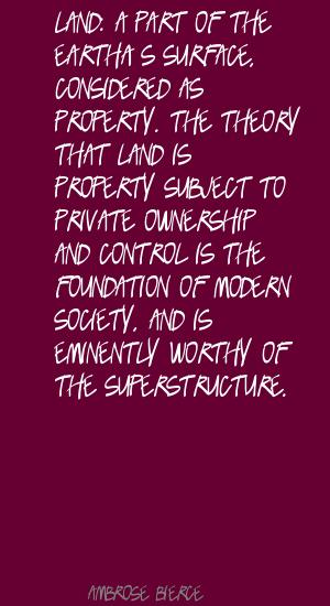 Private Ownership quote #1