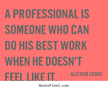 Professional Work quote #2