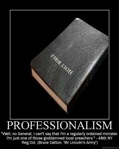 professionalism quote 1