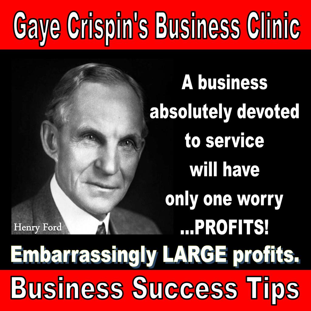 Profits quote #4