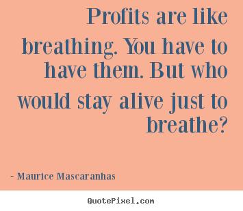 Profits quote #3
