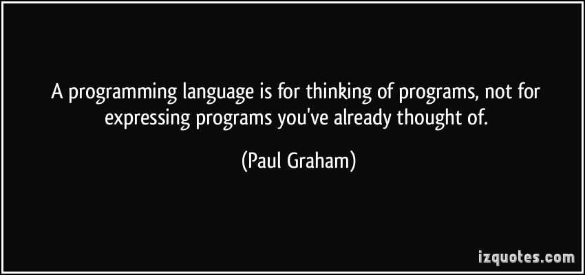 Programming Language quote #2