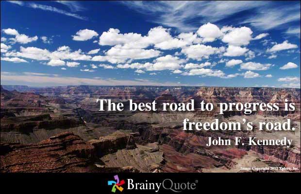 Progressing quote #1