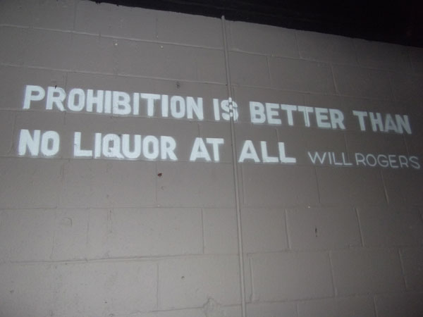 Prohibition quote #1