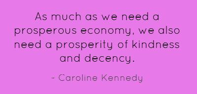 Prosperous quote #1