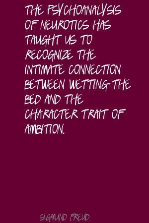 Psychoanalysis quote #1